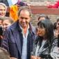 Visita del Gobernador Scioli a la Asociación La Colmena