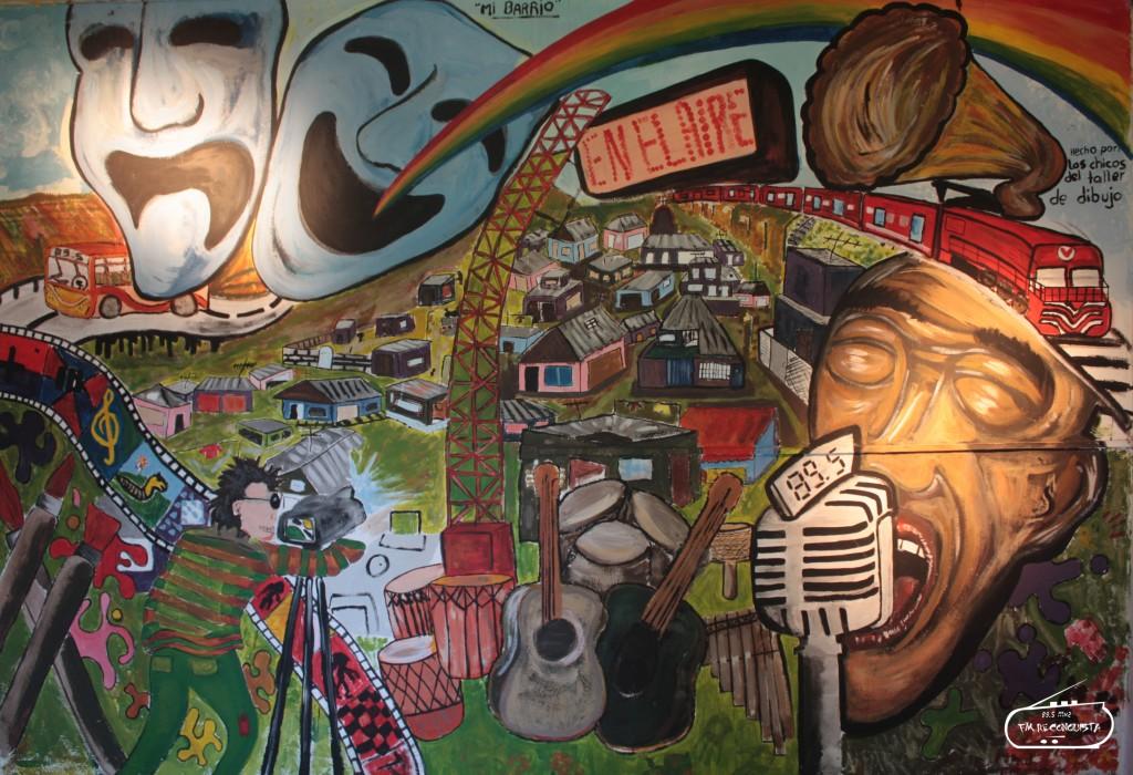 Mural Talleres FM Reconquista