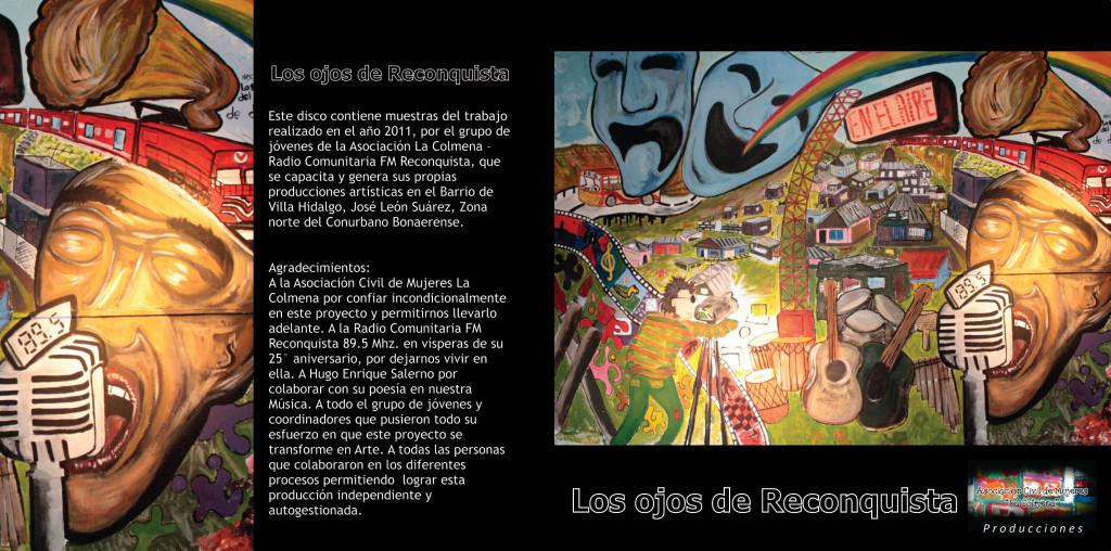 Tapa CD - Los Ojos de Reconquista